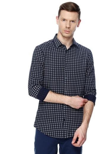 Kareli Uzun Kollu Gömlek-Fabrika